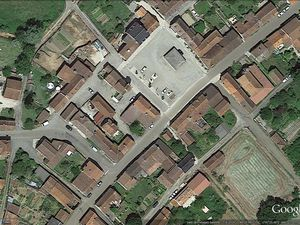 Carte de localisation + images satellitaires de Beauregard via Google earth