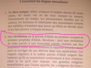 Le premier prophète c'est Adam - que la paix soit sur lui -