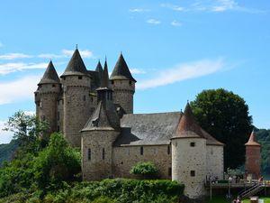 Bort les Orgues, château de val