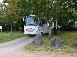 Aire de camping-car de Saint Quentin sur Charente (Limousin en camping-car)