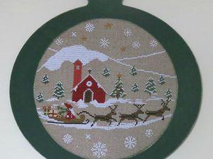 Boules de Noël par Sara Guermani