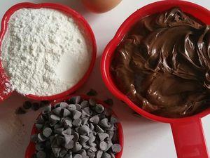 Cookies 100% nutella avec 4 ingrédients