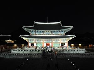 Le palais de Gyeongbok