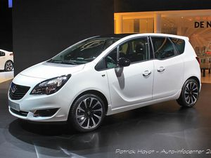 Opel Meriva new look