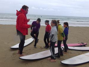 Sélections section sportive surf 2014/2015