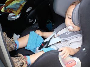 Avec baby securange : 14 mois, 9kg, 75cm,