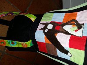 Un nouveau sac pour Loup