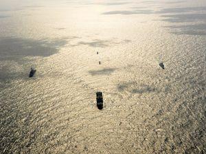 La FLF Guépratte en exercice Stakenet dans le Golfe Arabo-Persique
