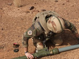 Barkhane : Destruction de munitions