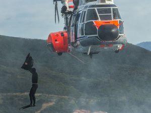 Corse: entraînement conjoint entre aviateurs et légionnaires