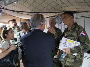Guinée : le CTS reçoit l'équipe interministérielle chargée de la lutte contre Ebola
