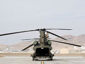 Kabul Cabs – The Chinook Force In Afghanistan