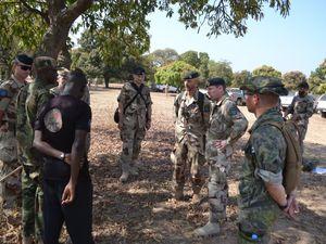 Visite du Lieutenant Général Göran Mårtensson, Chef des Operations Conjointes, au Mali.
