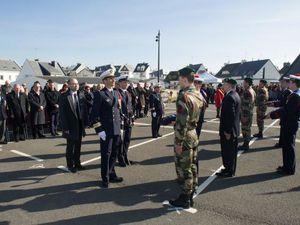 École des fusiliers marins : cérémonie de promotion matelot Chaton