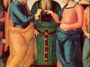 Pérugin, Le Mariage de la Vierge, 1500-1504