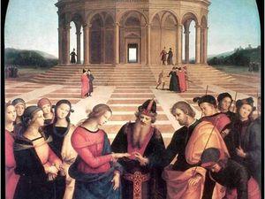 Raphaël, Le Mariage de la Vierge, 1504
