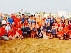 Un beach Volley so British !