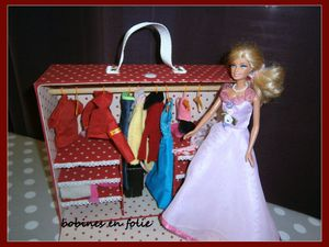 L'armoire de Barbie