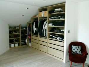 Chambre + Dressing