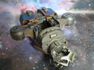 Peinture du Titan Reaver - Legio Astorum