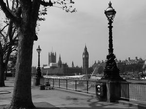 London in black &amp&#x3B; white