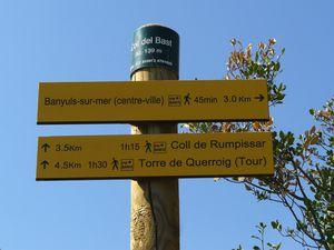 Randonnée &quot&#x3B;A saute montagne&quot&#x3B; à Banyuls (66)
