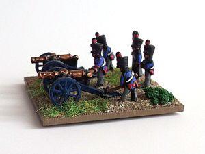 Waterloo 2015 : L'artillerie Hollando-belge.