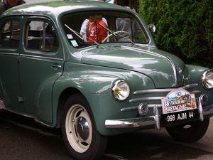 Retour sur le 33 tour de Bretagne des vieilles voitures