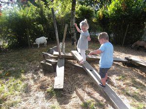 &quot&#x3B;Les jeux et les animaux au jardin&quot&#x3B; Septembre 2016