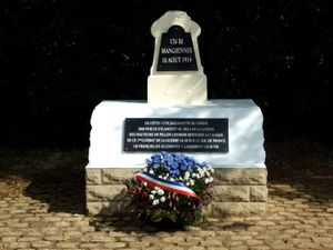 Centenaire 14/18- 10 Août 1914- Première bataille à Mangiennes du 101° R.I de Dreux.