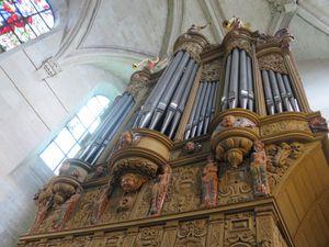 Les 400 ans du buffet de l'orgue de l'église St Pierre de Dreux.