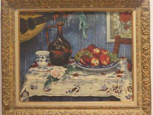 Nu au coquillage Chappelain Midy -- Neige à Montmartre Chenard Huché -Pécheur René Pierre Besserve.... Compagnon Viollette et Louis Valtat.....