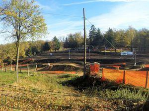 Le terrain de moto cross de Brigueuil