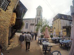 Changement de décor avec la visite de Montignac