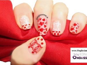 Pas à pas Stamping nail art by Boutique Konad www.Onglissimo.fr