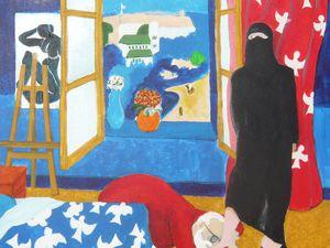 Mes peintures de Tanger (5 toiles de 2012)