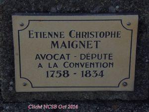 AMBERT, Puy de Dôme, il y a 180 ans, MAIGNET...