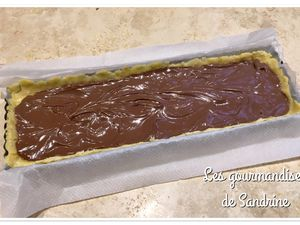 Sbriciolata ~ crumble italien au Nutella {Bataille Food #42}