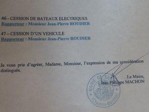 19 - Monsieur le Maire .. Amende honorable -----&gt&#x3B; Assises municipales