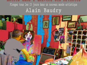 12 - Bernard de Lisle curé de Saintes. Agenda. Restaurant 29 à Saintes. Alain Baudry artiste chez Yvan.