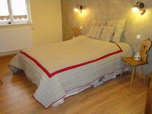 Chambre 1 (1 lit 160) & chambre 2 (2 lits 90)