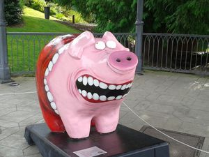 Pig art à Fougères