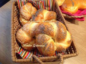pain brioché maison