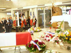 Les obsèques de Michel XIMENES