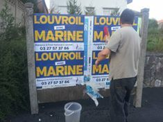 Collage dans la 3e circonscription