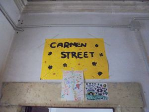 Carmen Street: Projet «Plein Temps» /.../ Project &quot&#x3B;Full Time&quot&#x3B;