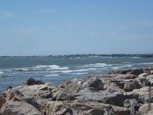 Côté mer et côté fleuve...