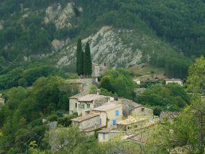 Le village de Saint-Benoît-en-Diois
