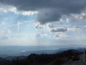La vue sur la vallée de la Durance