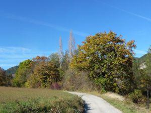 Paysages champêtres à l'automne 2016